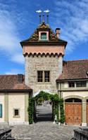 L'Entree du Chateau d'Oberhofen by LePtitSuisse1912