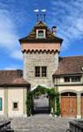 L'Entree du Chateau d'Oberhofen