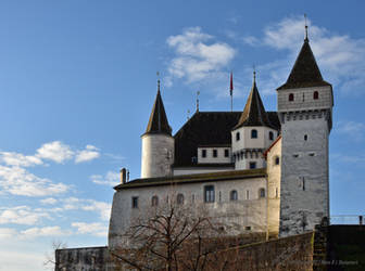Chateau de Nyon / Castle of Nyon by LePtitSuisse1912
