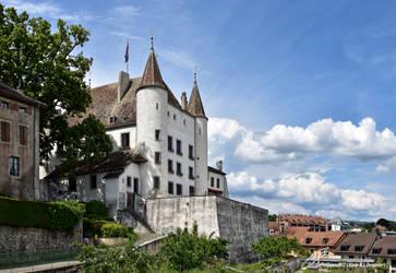 Chateau de Nyon / Schloss von Nyon by LePtitSuisse1912