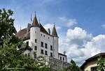 En dessous du Chateau de Nyon by LePtitSuisse1912
