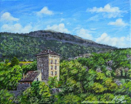 Le Chateau des Clees sur la toile