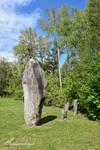 Menhirs de Clendy a Yverdon-les-Bains