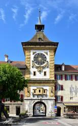 La Porte de Berne de Morat / Das Berntor