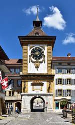 Das Berntor von Murten / La Porte de Berne