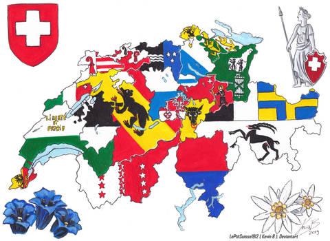 La Suisse des 26 Cantons