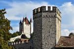 Tour de garde et le Chateau by LePtitSuisse1912