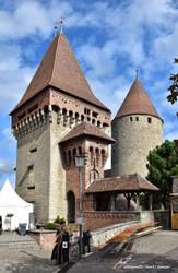 La Tour Porte et le Donjon du Chateau de Chenaux