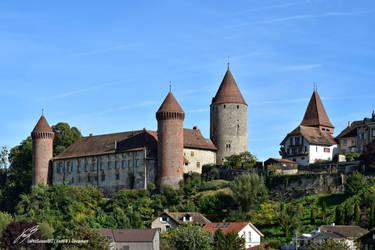 Chateau de Chenaux a Estavayer-Le-Lac