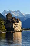 Chateau de Chillon Format Portrait