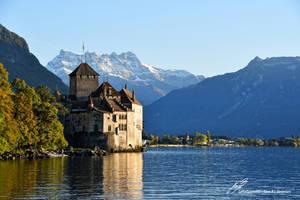 Chateau de Chillon / Plan Large