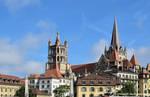 Notre Dame de Lausanne by LePtitSuisse1912