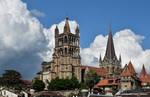 Cathedrale Notre-Dame de Lausanne: Nouveau Cadrage by LePtitSuisse1912