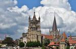 Cathedrale de Lausanne by LePtitSuisse1912
