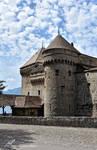 L'Entree du Chateau de Chillon by LePtitSuisse1912