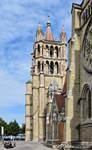 La Tour Sud de Notre-Dame de Lausanne by LePtitSuisse1912