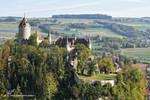 Chateau de Lucens vu de Profile by LePtitSuisse1912