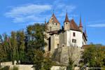 Chateau de Lucens by LePtitSuisse1912