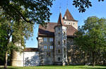 Chateau de Nidau depuis le Parc by LePtitSuisse1912