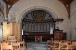 Interieur de l'Eglise de Donatyre face au Choeur