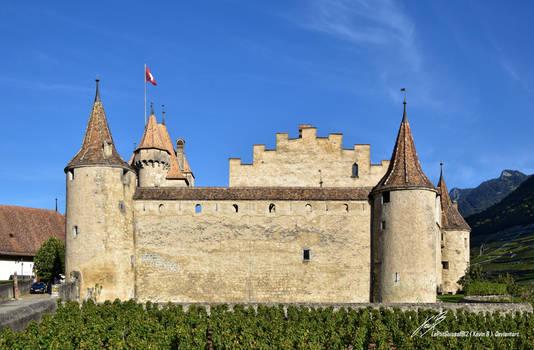 Face au Chateau d'Aigle