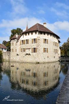 Chateau d'Hallwyl reflexion