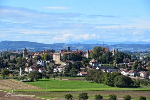 Vue sur Avenches
