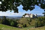 Lenzburg Landschaft by LePtitSuisse1912