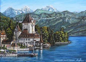 Schloss Oberhofen sur la Toile by LePtitSuisse1912