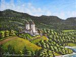 Vision d'Artiste de Pont en Ogoz au Moyen Age