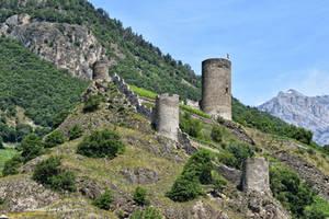 Ruines de Saillon