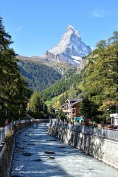 Le Cervin depuis Zermatt