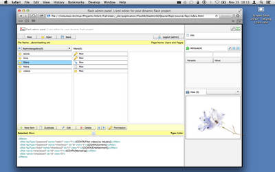 Flash XML Editor