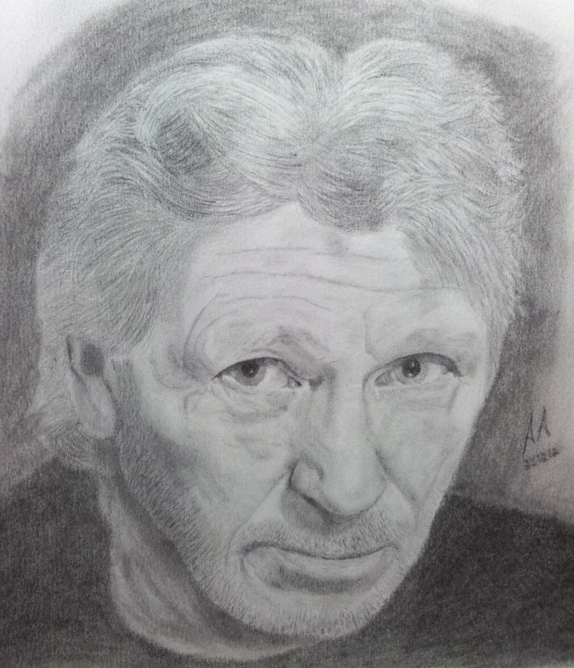 Roger Waters (Pink Floyd) by Pandaforge