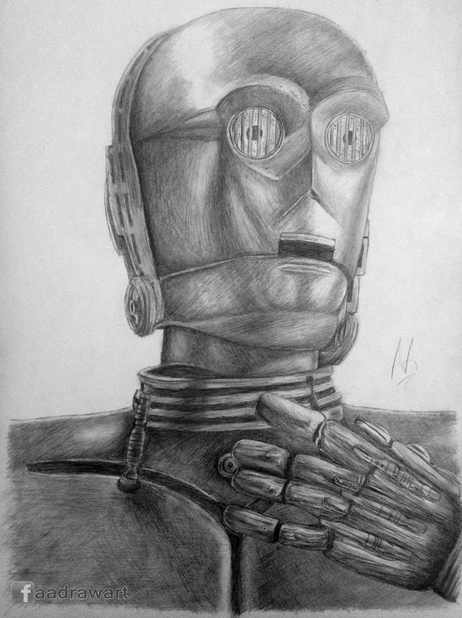 C-3PO [Star Wars] by Pandaforge