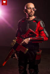 Deadshot Cosplay by callianis