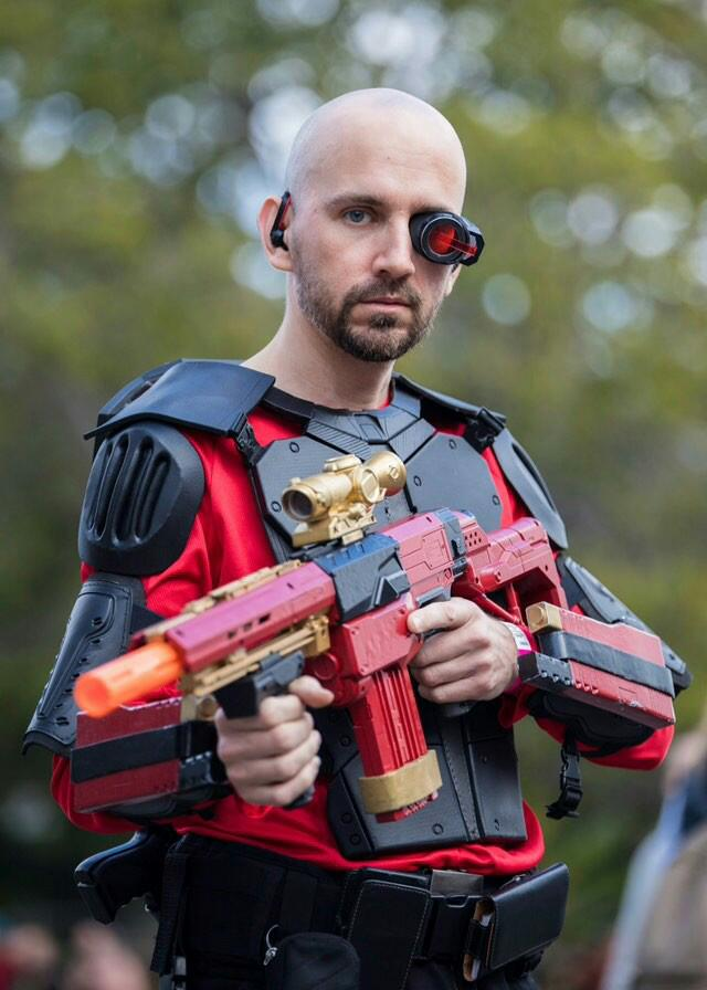 Deadshot Cosplay by callianis