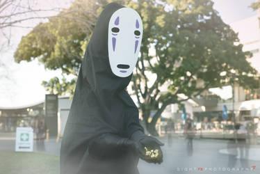 No Face/Kaonashi from Spirited Away by callianis
