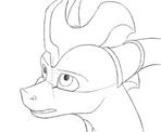 Skye animation by Fourth-Star