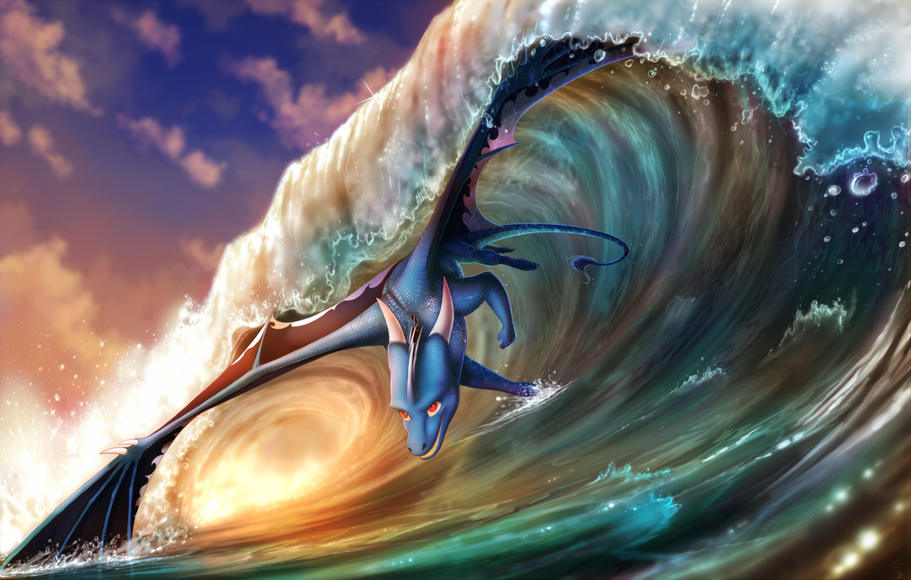 Wild like the Wave by Fourth-Star