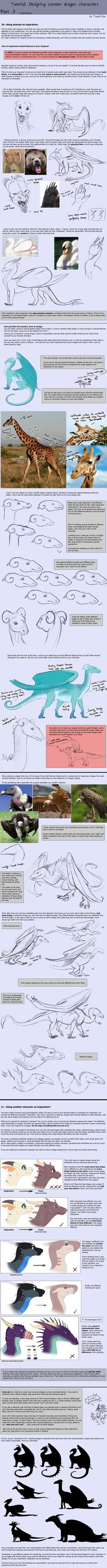 Tutorial: Dragon Designing Tips - part 3/3 by SeaSaltShrimp