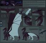 Commission - Xenos Reference Sheet by SeaSaltShrimp