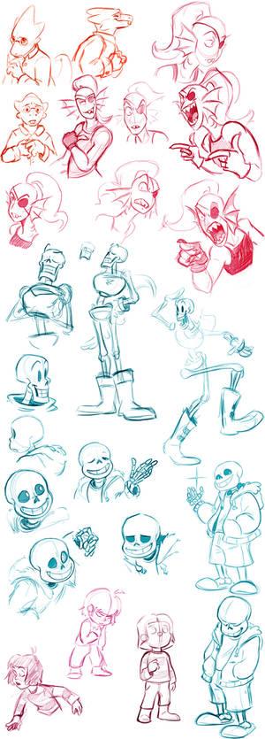 UT Sketches