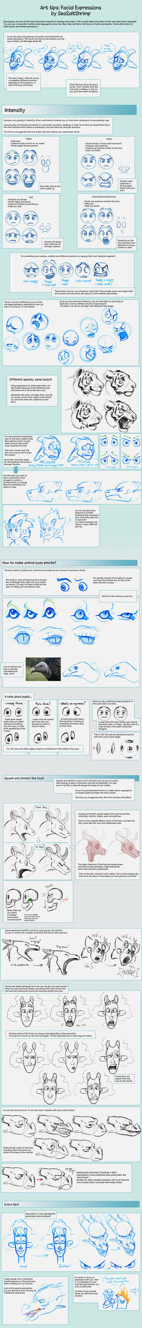 Art Tips on Facial Expressions