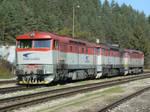 ZSSK Cargo 751 118-1 + 751 128-0 + 751 192-6