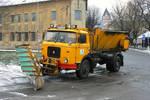 Skoda 706 MTSP 25 Snow Plow Truck by MacTavishSAS