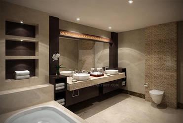 Bathroom area by masvaley