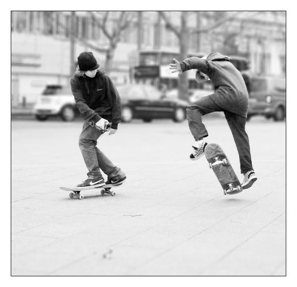 Kickflip by senfbeu