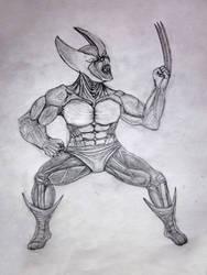 Wolverine enraged by mirrorrrrr