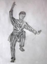 Tai Chi White Crane Stance by mirrorrrrr